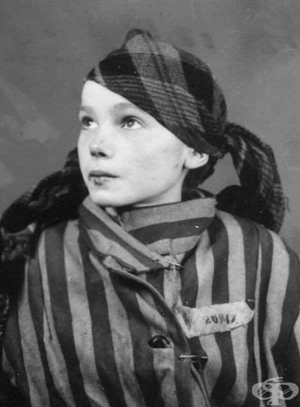 Czeslawa Kwoka е на 13 години, когато е изпратена в Аушвиц - скандалния нацистки лагер на смъртта.