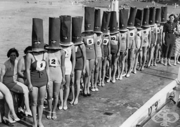 Конкурс за красота в Клифтънвил, САЩ, 1936 г.