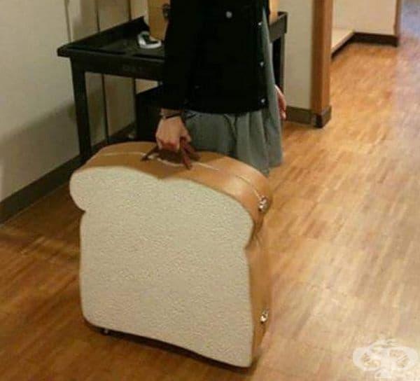 Този куфар няма как да го объркате.