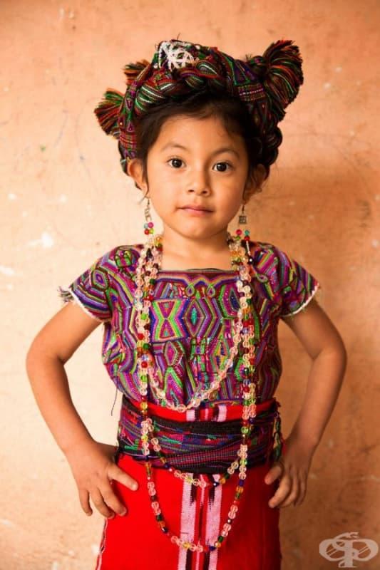 Момиче от племето Иксил.