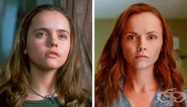 """15-годишната Кристина Ричи участва във филма """"Каспър"""". 19 години по-късно актрисата се появи на екрана като образа на Лизи Борден, главният герой в """"Лизи Бордън хвана брадвата""""."""