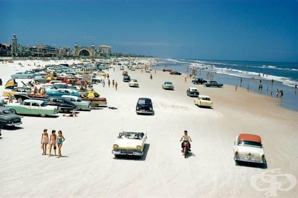 Дайтона Бийч, Флорида, 1957г.