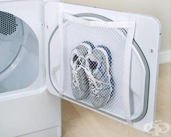 Мрежа за сушене на обувки.