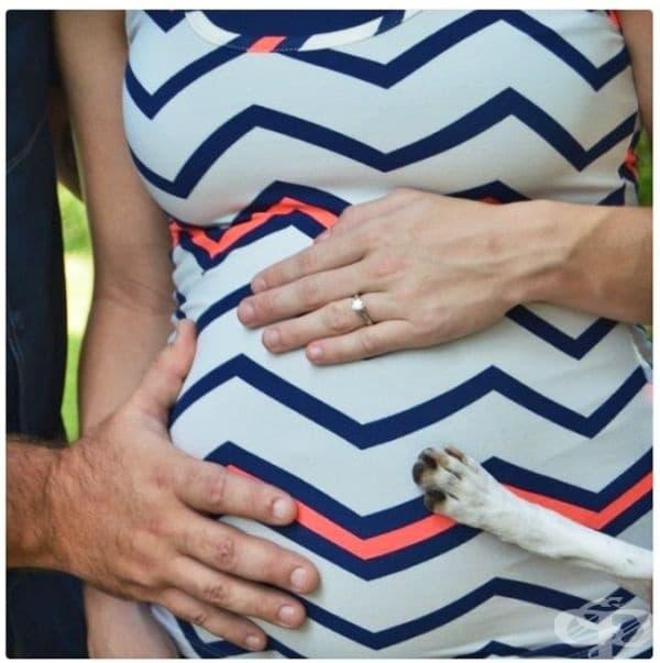 Снимка на моята бременна сестра...