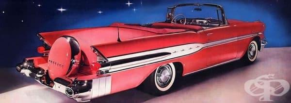 1957 Pontiac Star Chief кабриолет.