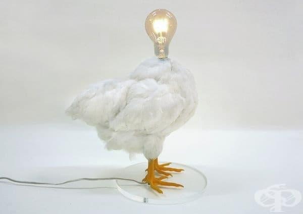 Лампа - кокошка.