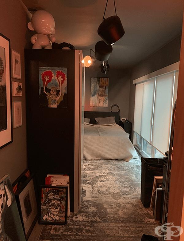 Уютна спалня.