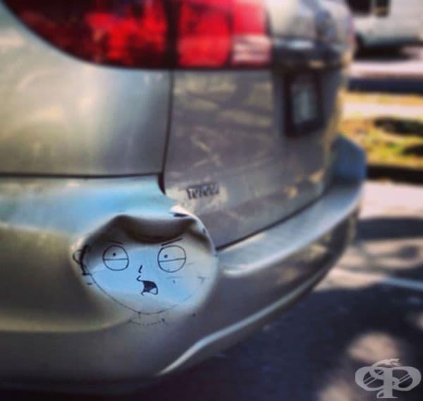 Още един начин да подобрите вдлъбнатина по вашия автомобил.