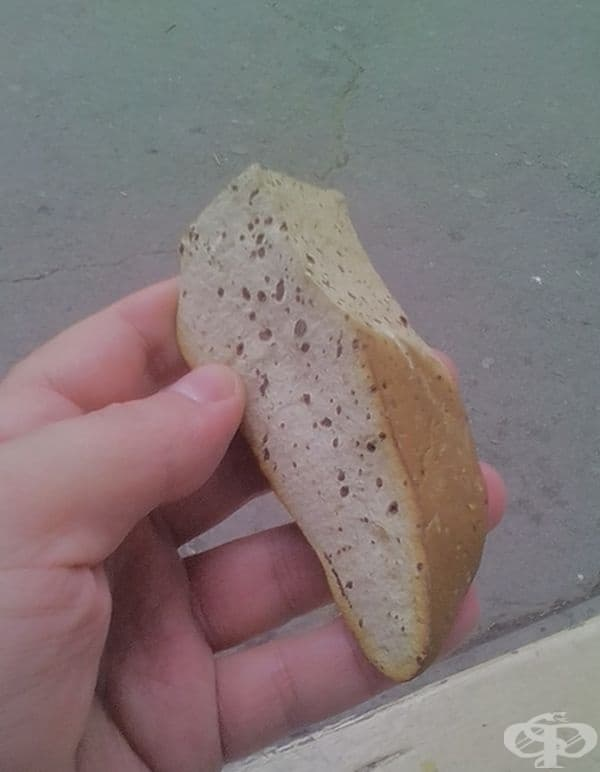 """Този """"хляб"""" може да ви счупи зъбите."""
