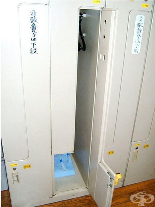 Някои капсули разполагат с отделно помещение за багаж.