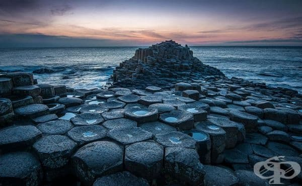 Пътят на Великана, близо до Бушмилс, Северна Ирландия.