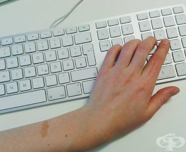Набора от цифри на клавиатурата. Ако някой започне да произвежда клавиатури с позиционирани вляво числата на клавиатурата, вероятно ще направи доста пари.