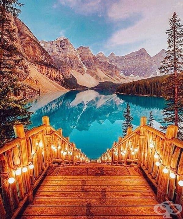 Езеро Морейн, Канада
