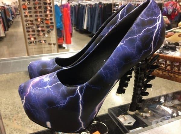 Обувки - трепач.