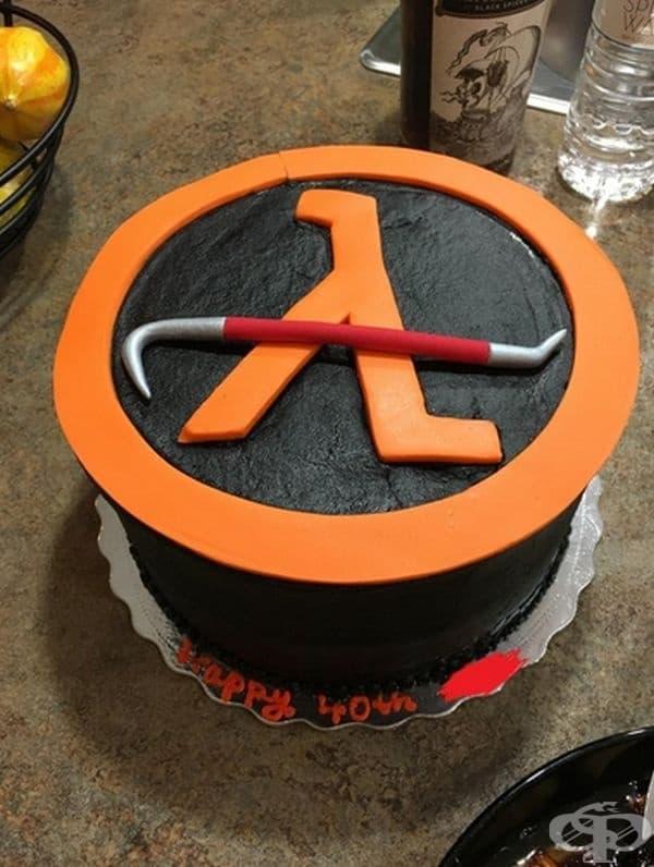 """Торта """"Half-Life""""."""