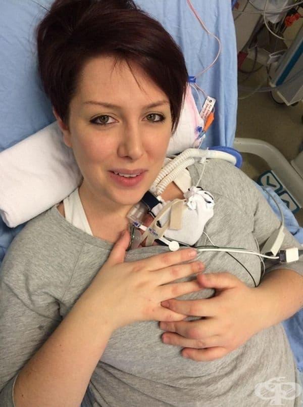 """""""Първият път, когато гушнах недоносеното и бебе."""""""