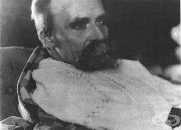 Фридрих Ницше в лудницата, 1899.