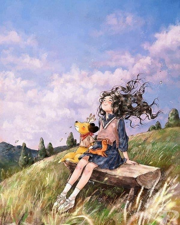 Всъщност тя е рисува живота, който е искала да изживее сама.