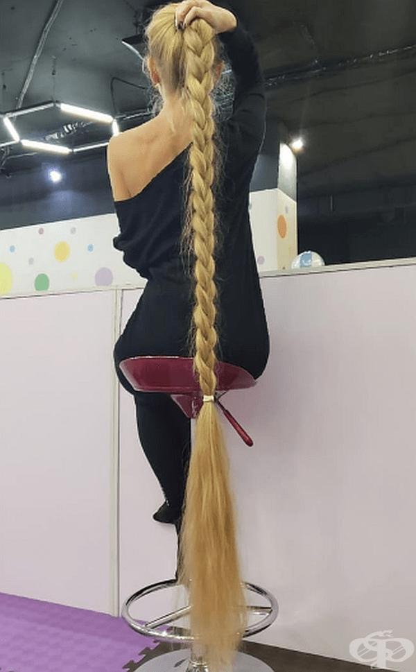 Защото грижата за такава коса не е лесна задача.