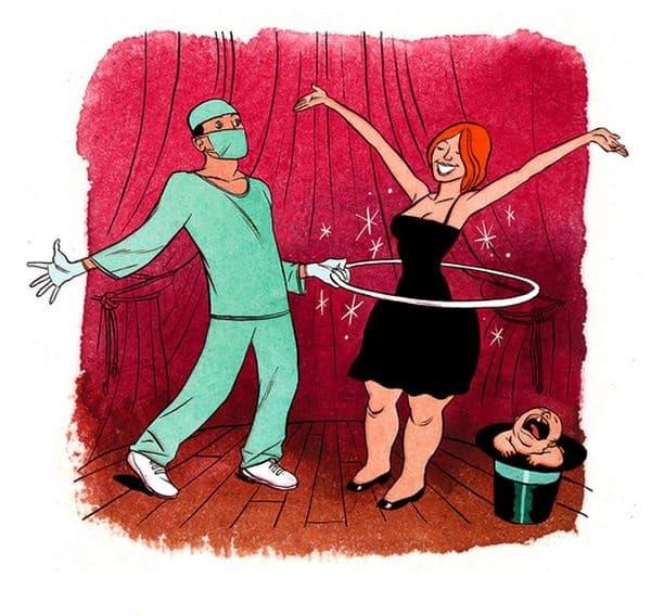 Чудесата на пластичната хирургия за жените.