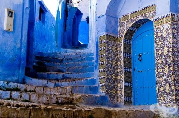 Абсолютно невероятен син град, изваден сякаш от сънищата