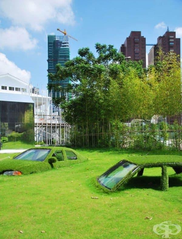 Потънали коли, Тайван.