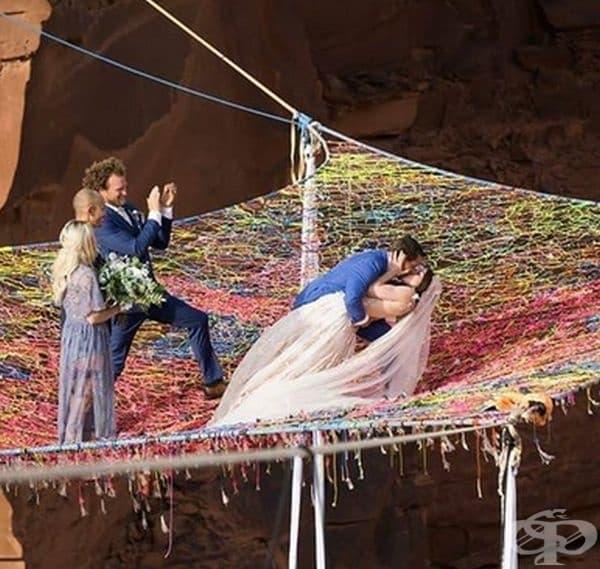 Уникалните сватбени снимки на една американска двойка удивиха целия свят