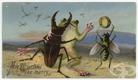 20 странни коледни картички, които ще ви озадачат, усмихнат, стреснат...