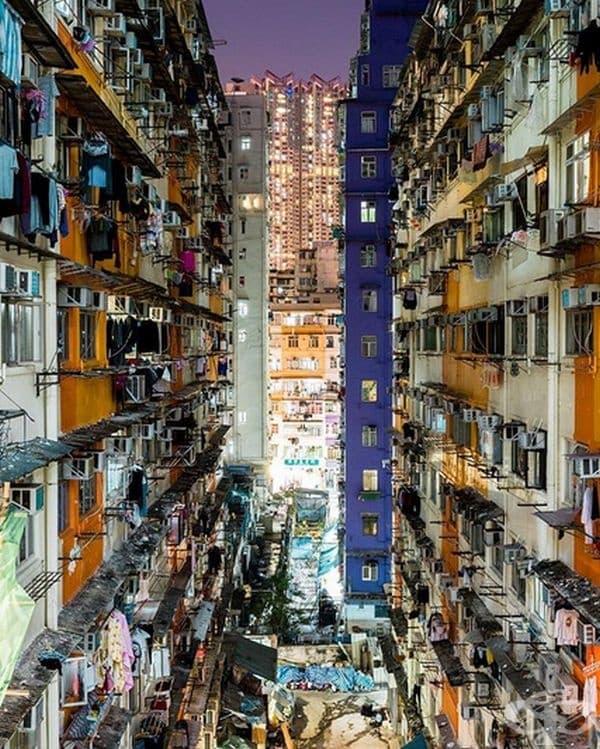 Квартали на Хонг Конг.