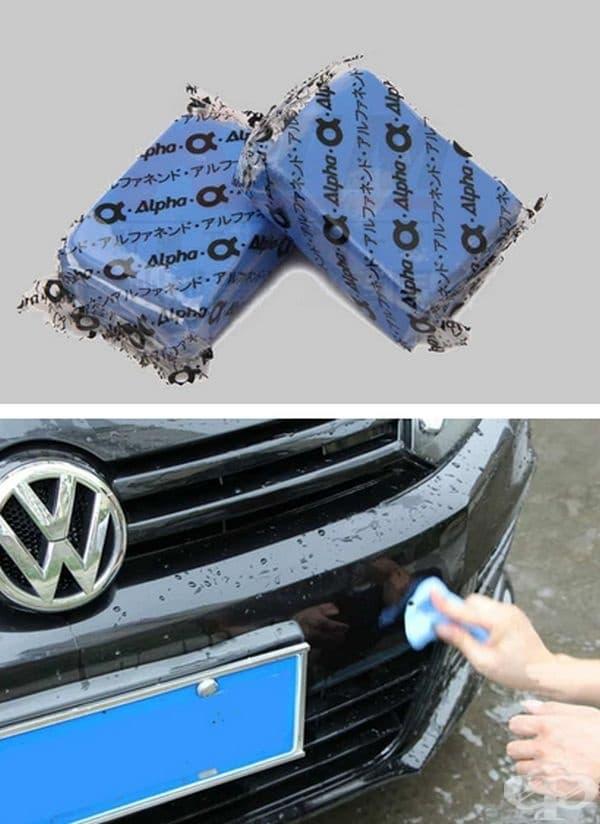 Глина за почистване на замърсявания по лака на автомобила.