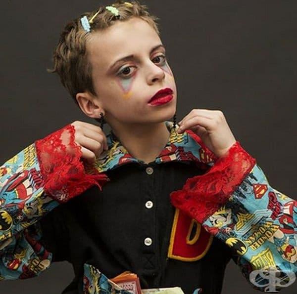 10-годишно трансджендър дете дебютира на Нюйоркската седмица на модата