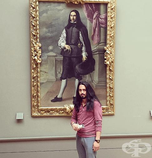 """""""Намерих двойника си в Лувъра. Това е Иниго Мелчор Фернандес де Веласко."""""""