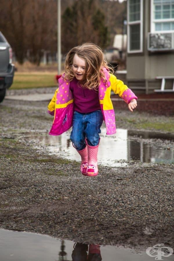 """""""Моята 3-годишна дъщеря иска да скочи в тази локва."""""""