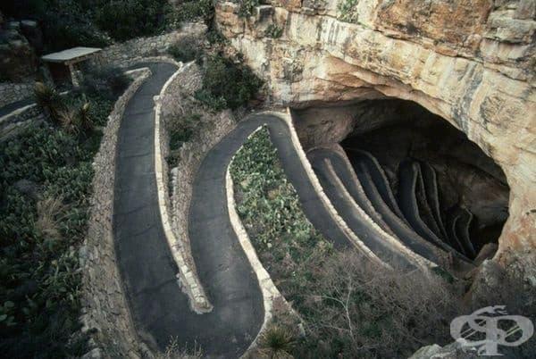Carlsbad Caverns в Ню Мексико впечатлява хората със своята величие и мистерия. Това е една от най-старите и най-известни пещерни системи на нашата планета. Има огромни камери, изпълнени с разнообразни фантастични спелеоми.