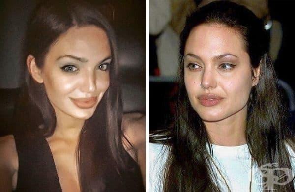 Челси Мар и Анджелина Джоли