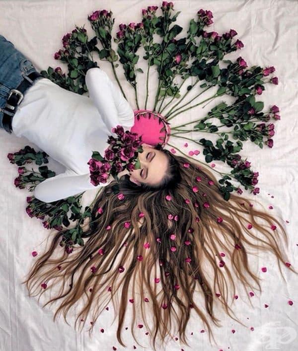 Невероятни снимки демонстрират красотата на косата