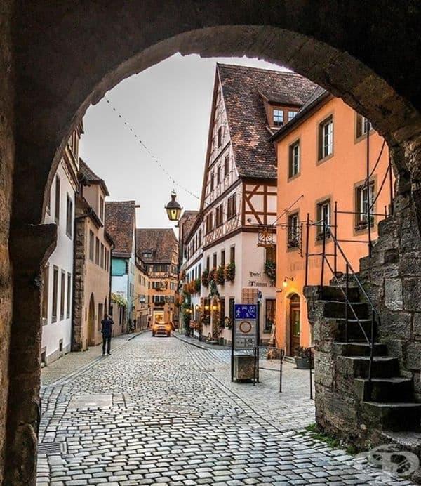 Ротенбург об дер Таубер, Германия.
