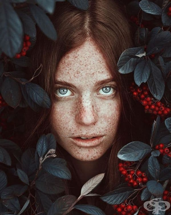 Нимфа от гората.