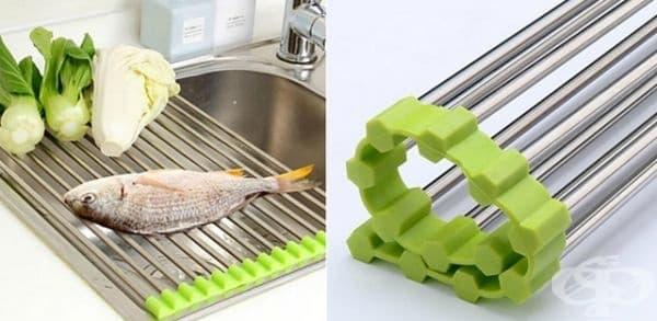 Решетка за изцеждане на продукти.