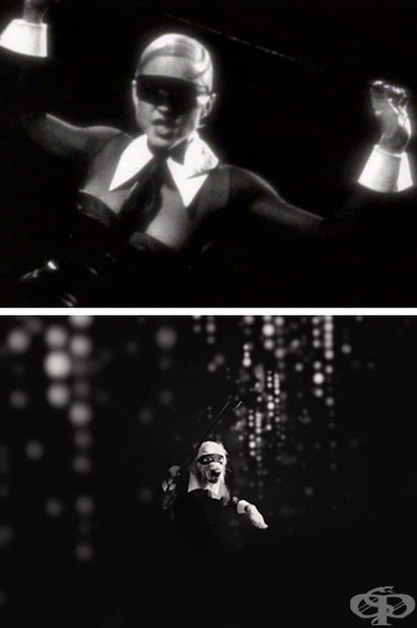 """""""Erotica"""", музикално видео."""