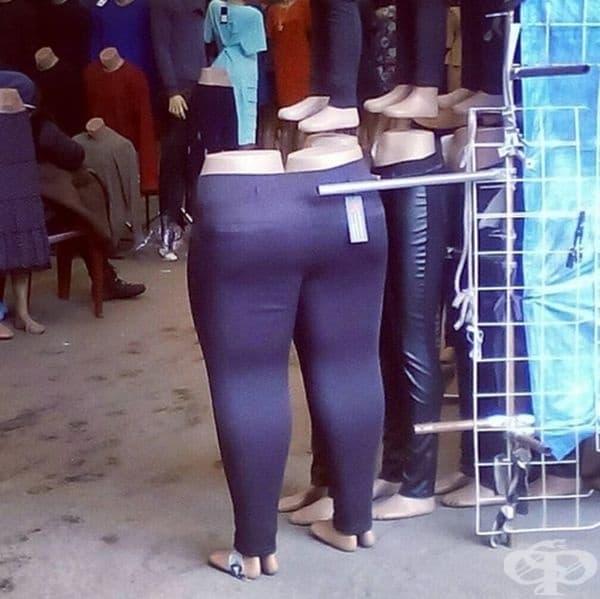 В този магазин може да откриете всички размери.