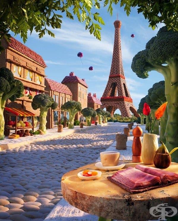 Например Париж.