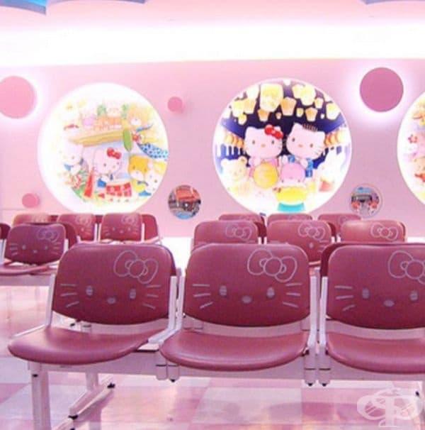 В Тайван откриха първото родилно отделение в света в стил Hello Kitty