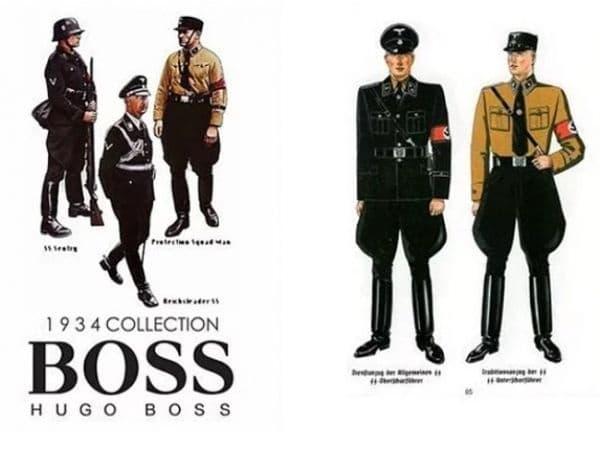 Hugo Boss е бил дизайнер на нацистките униформи.