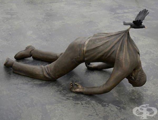 Скулптура от Фредрик Радум, 2017 г.