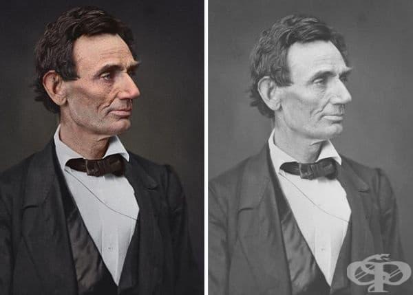 Ейбрахам Линкълн.