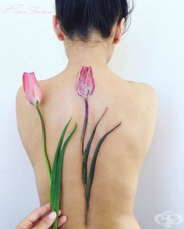 20 татуировки за хора, които винаги носят пролетта в душата си