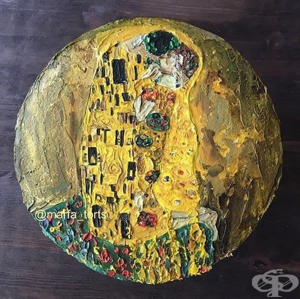 """Густав Климт, """"Целувката"""""""