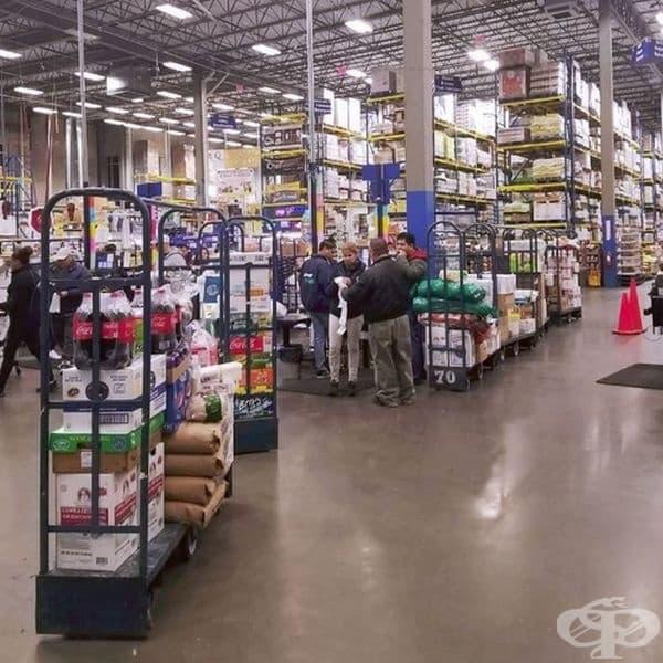 Хранителни стоки може да купувате от супермаркетите, а не от магазините за кулинарни изкушения. Ще намерите всичко с добро качество и на добра цена.