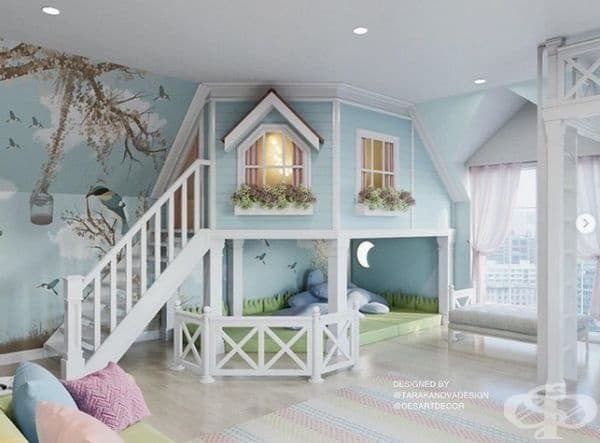 Ето как да превърнете детската стая в стая на мечтите.